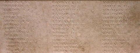 Memorial Panel for Willie Rhodes