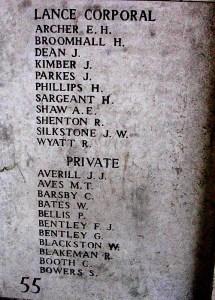 Panel for Albert Edward Shaw