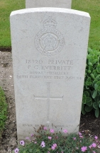 Private Percy George Everritt