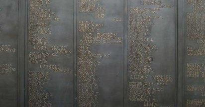 Panel 64 of Tower Hill Memorial - William Trever Lee
