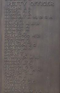 Memorial for Herbert James Smith