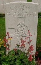 Headstone for Wilfred Gledhill 2