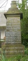 Memorial at Rawtenstall Unitarian Church for James Henry Halstead