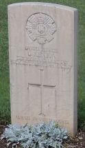 Headstone for George Saxon Kenyon
