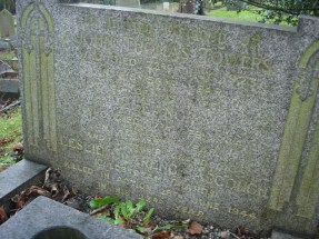 Headstone for John Thomas and Eleanor Towers