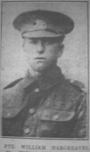 Private William Hargreaves, 1893-1917