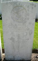 Headstone for Arthur Edmund Hall