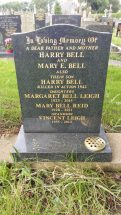 Memorial for Harry Bell and family