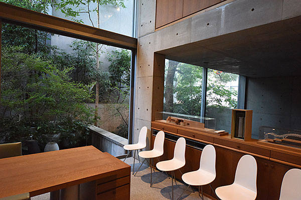 Inside the 'home' of Tadao Ando