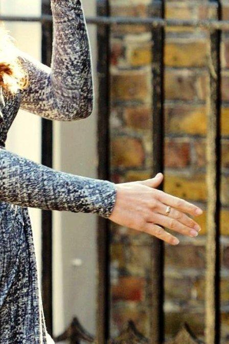 Duchess Kate Middleton Ruby Ring Close