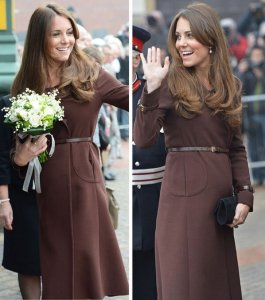 Kate Brown Coat Grimsby March 2013