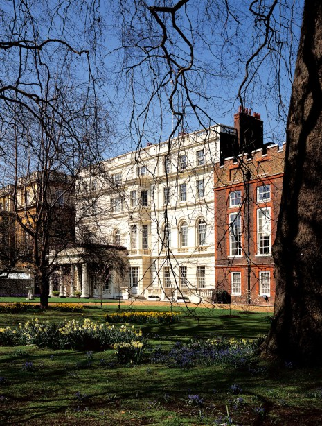 Clarence House, where the reception following the christening will take place - via royal.gov.uk