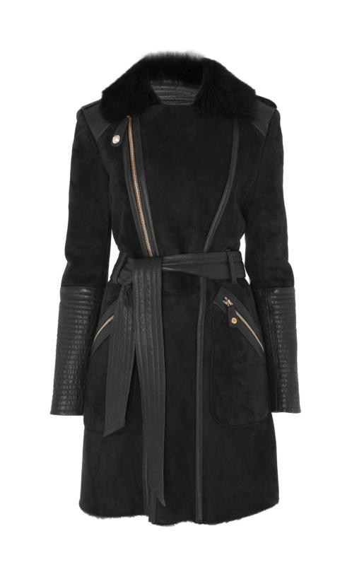 Kate Temperley London Odele Sheepskin Coat