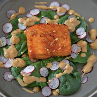Gordon Ramsay's salmon