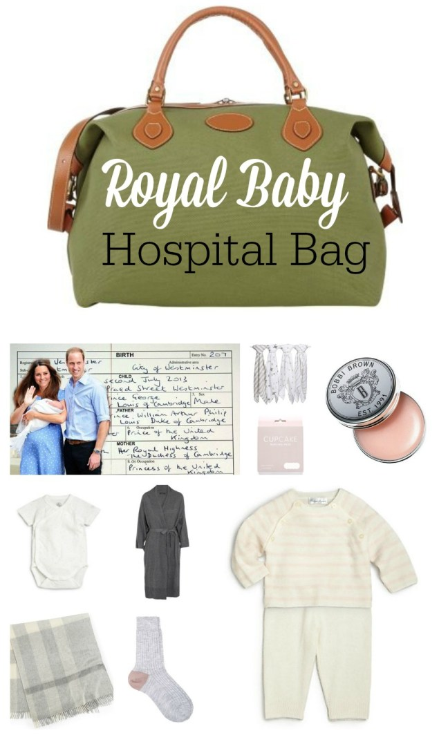 Royal Baby Hospital Bag