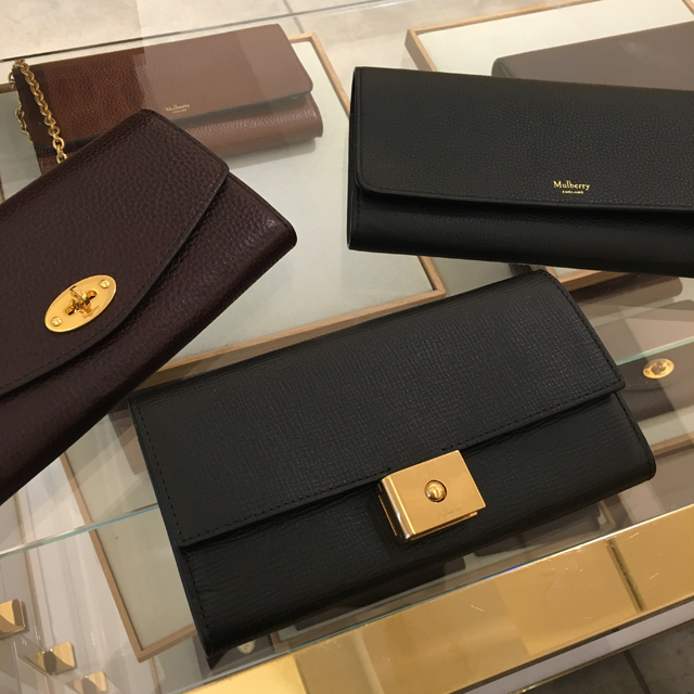 Bond Street Mulberry clutches
