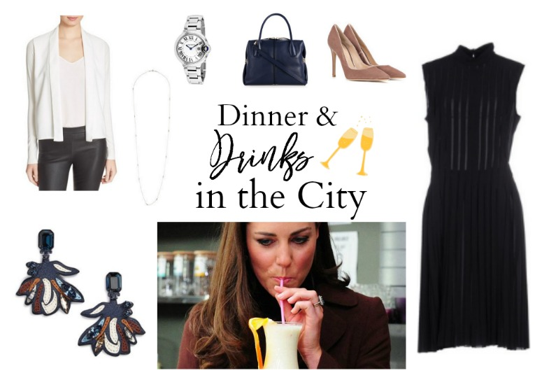 Kate Middleton Dinner Drinks