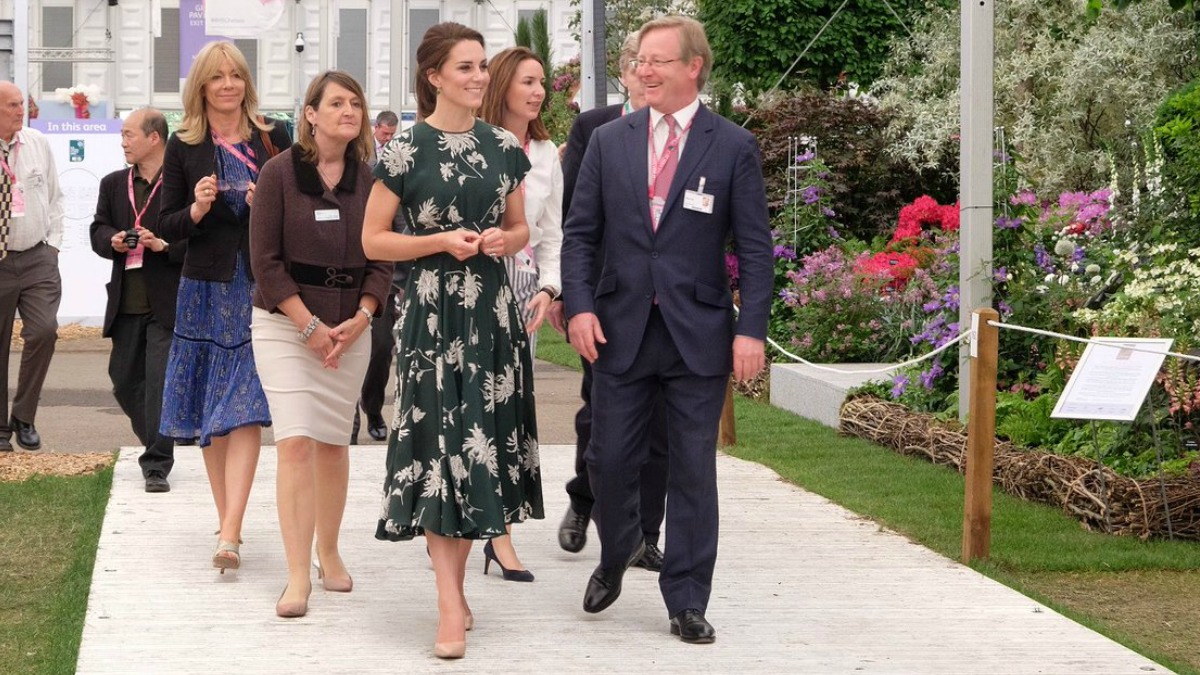 duchess of cambridge garden show