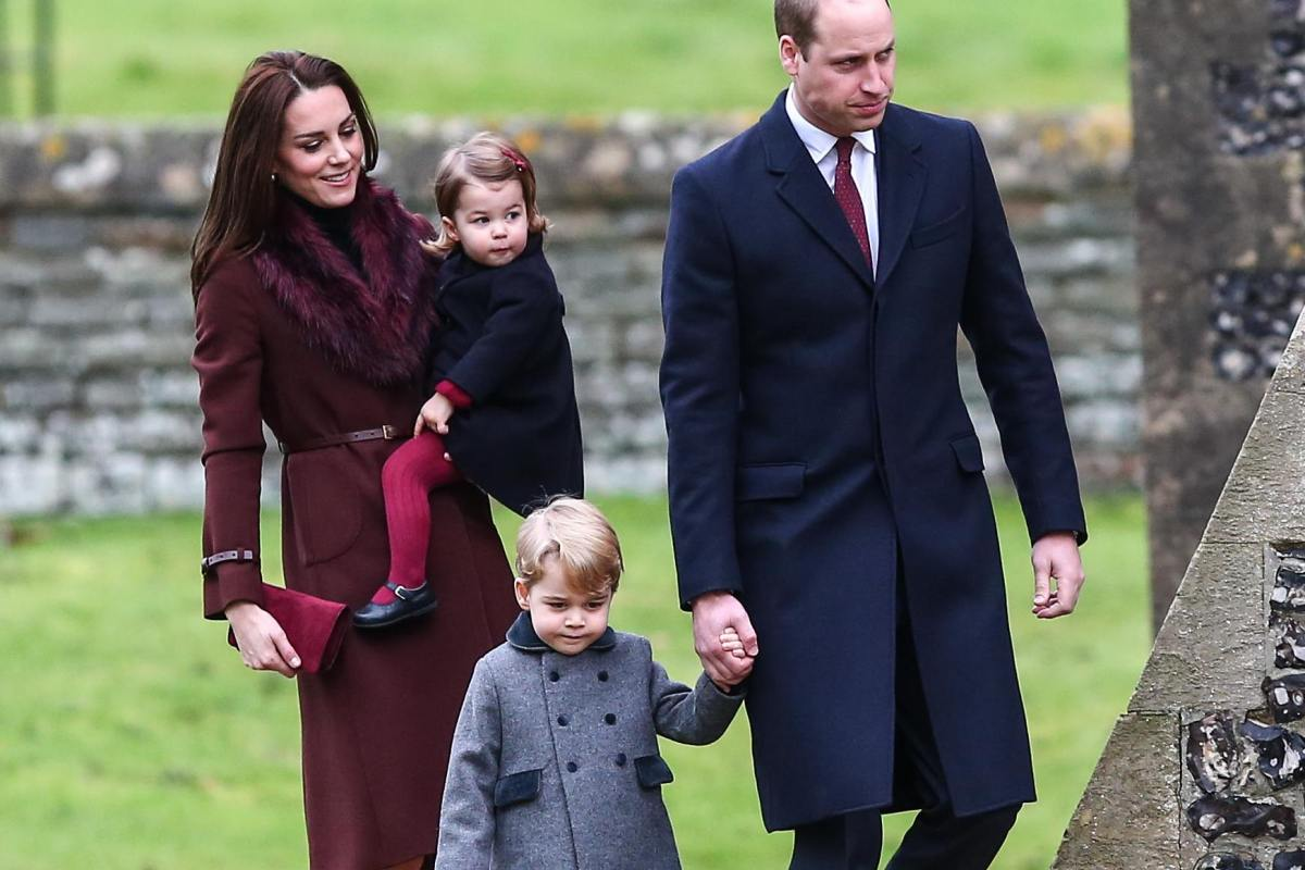 William Kate Middleton Christmas George Charlotte
