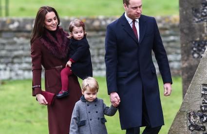 William Kate Middleton Christmas George Charlotte