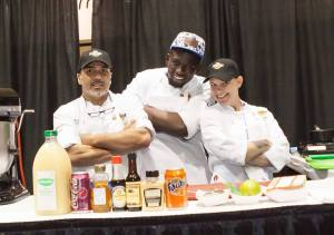 CRAEF ProStart at the Culinary Clash in Los Angeles during WFH Expo 2016