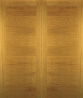 Modena Oak Garage Doors