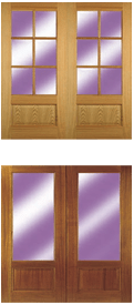 Browse Oak and Meranti Doors