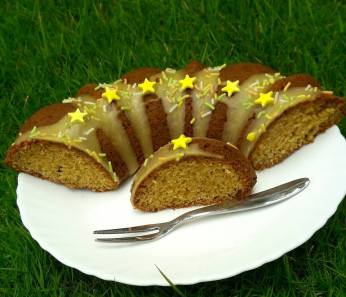 mango glaze cake 5