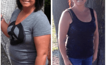Lori down to a size 4 and healthy