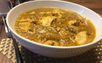 Chicken Curry with Lentils (for GOS prebiotics)
