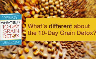 What's different about the Wheat Belly 10-Day Grain Detox
