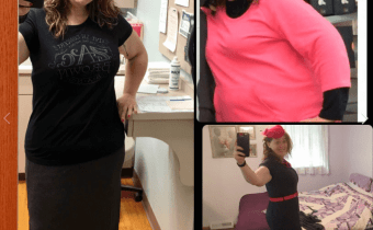 Sharon thinner and healthier DESPITE the doctor