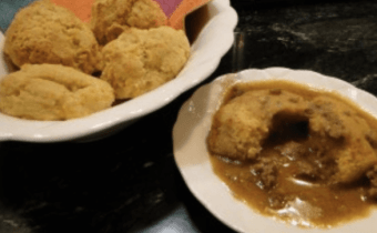 Wheat Belly Holiday Recipes: Healthy Biscuits and Gravy