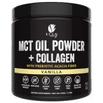 MCT oil powder plus collagen.