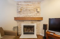 Mid Century Modern Fireplace Mantel in Chicago, Illinois ...