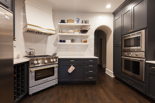 kitchen reface island countertops and custom range hood in glen ellyn illinois modification by wheatland cabinetry