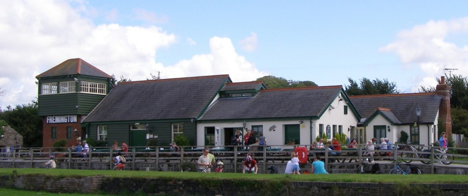 Fremington Quay, old station buildings