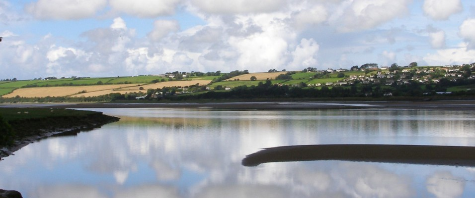 Estuary on the Tarka Trail near Barnstaple