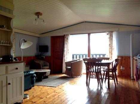 Beech Eco Lodge main living space