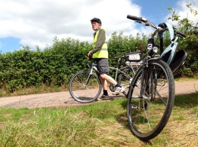 Hire electric bikes from Wheatland Farm Eco Lodges