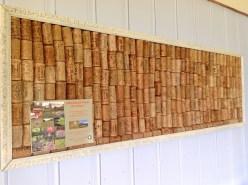 honeysuckleecologeupcycledcorkboard