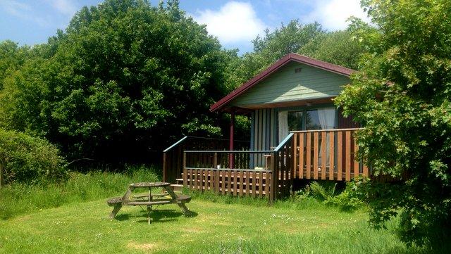 Honeysuckle eco lodge, Wheatland Farm, Devon