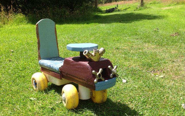 Refurbished ride-on toy