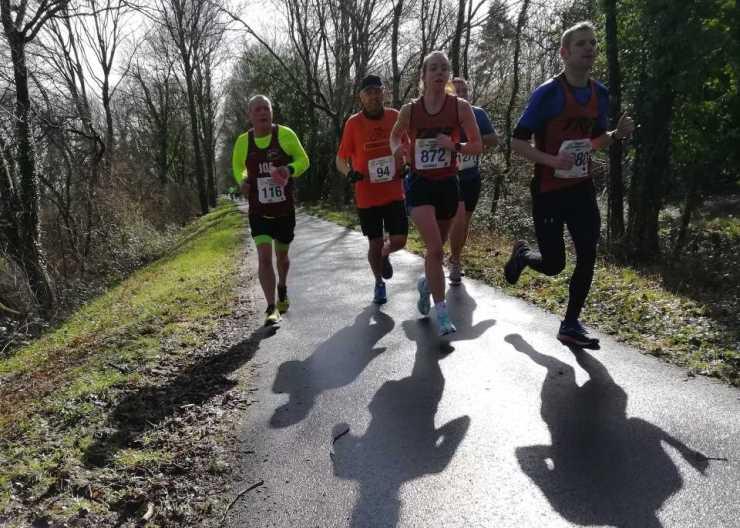 Bideford Half Marathon 2020, running the Tarka Trail