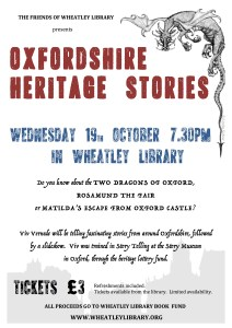 Oxfordshire Heritage Stories 19-Oct-2016