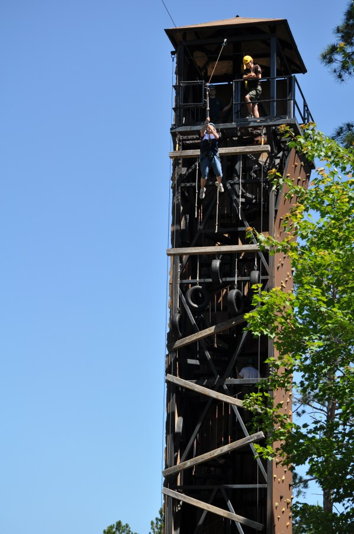 Zipline tower of fear