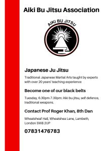 Aiki Bu Jitsu @ Wheatsheaf Community Hall | United Kingdom