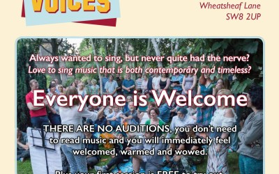 Join a Choir! – Vauxhall Voices are Recruiting