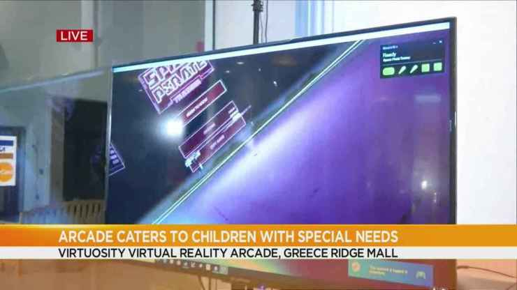 New virtual reality arcade caters to children with special needs