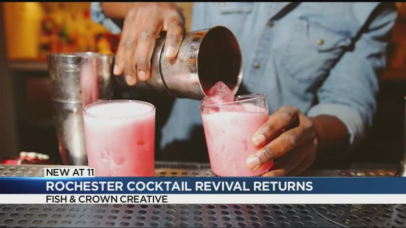 The Rochester Cocktail Revival returns this June